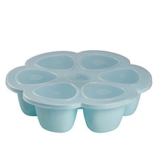Achat Vaisselle & Couvert Multi Portions Silicone 6 x 90 ml - Blue