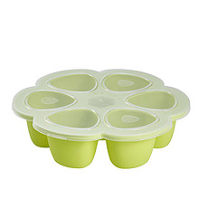 Achat Vaisselle & Couvert Multi Portions Silicone 6 x 90 ml - Néon