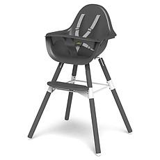 Achat Chaise haute Chaise Haute Evolu 2 Pieds Gris - Gris