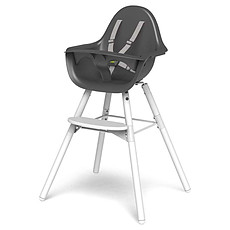 Achat Chaise haute Chaise Haute Evolu 2 Pack Complet Pieds Blanc - Gris