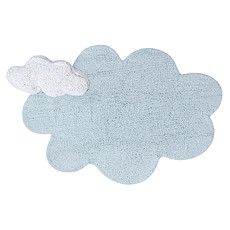 Achat Tapis Tapis Lavable Puffy Dream Bleu - 70 x 110 cm