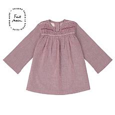 Achat Haut bébé Robe Smocky - Purple Woven Checks