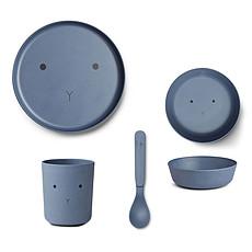 Achat Coffret repas Set de vaisselle Rabbit - Blue Wave