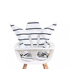 Achat Chaise haute Coussin de Chaise Haute Ange Jersey - Marin