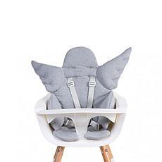 Achat Chaise haute Coussin de Chaise Haute Ange Jersey - Gris