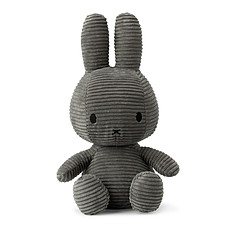 Achat Peluche Peluche Lapin Miffy Anthracite - 33 cm