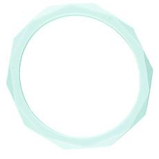 Achat Dentition Bracelet Bangle - Menthe