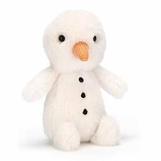 Achat Peluche Fluffy Snowman