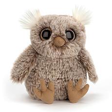 Achat Peluche Peluche Hibou Nocturne Owl 16 cm