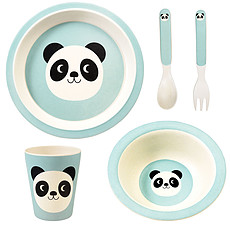 Achat Coffret repas Set Repas Cookie Bamboo Panda 5 Pièces