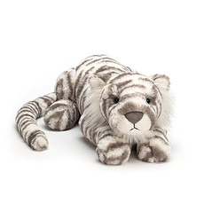 Achat Peluche Sacha Snow Tiger - Large