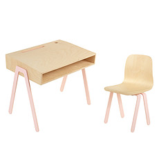 Achat Table & Chaise Set Bureau + Chaise Rose 2 - 6 ans