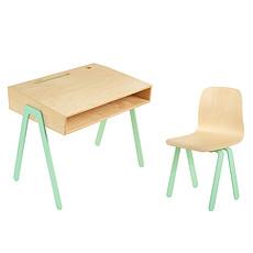 Achat Table & Chaise Set Bureau + Chaise Menthe 2 - 6 ans