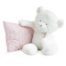 Achat Doudou Le Doudou - Ours Blanc 50 cm