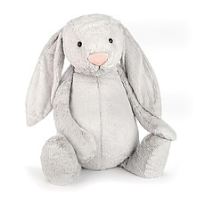 Achat Peluche Bashful Silver Bunny - Really Big