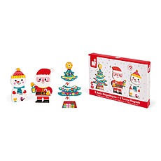 Achat Mes premiers jouets Funny Magnets - Le Père-Noël et ses Amis