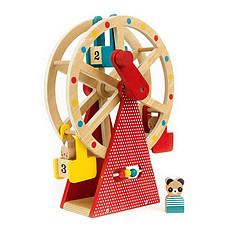 Achat Mes premiers jouets Grande Roue en Bois avec Figurines
