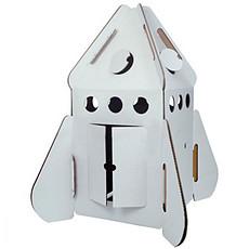 Achat Mes premiers jouets Fusée Cabane Carton