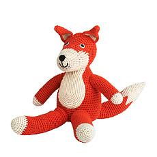 Achat Peluche Renard en Crochet - Rouge