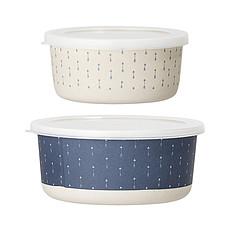 Achat Vaisselle & Couvert Lot de 2 Box Bamboo Bleu
