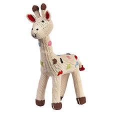 Achat Peluche Peluche Girafe en Crochet 38 cm