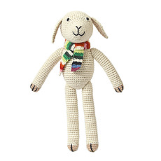 Achat Peluche Mouton en Crochet - Nature