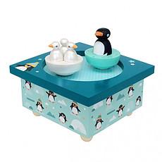 Achat Boîte à musique Boîte à Musique Dancing Pingouin