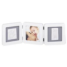 Achat Empreinte & Moulage Cadre Photo Double Print Frame - Blanc et Gris