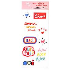 Achat Sticker Planche de Stickers
