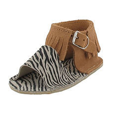 Achat Vêtement layette Sandales CLOE - Camel / Zèbre