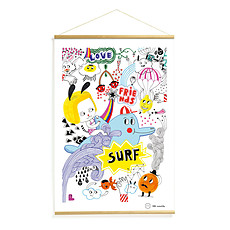 Achat Affiche & poster Surf's Party Kakemonos
