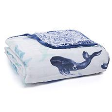 Achat Linge de lit Couverture de Rêve - Seafaring Whales