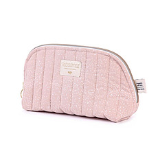 Achat Trousse Trousse de Toilette Holiday - White Bubble / Misty Pink