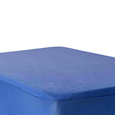 Achat Linge de lit Drap Housse B-Sensible Bleu Royal - 60 x 120 cm
