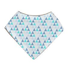 Achat Bavoir Mini Bavoir Triangles Bleus
