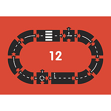 Achat Mes premiers jouets Circuit Flexible à Assembler - RingRoad