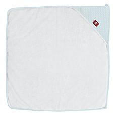 Achat Textile Sortie de Bain Fleur de coton 80x80 cm - Bleu poudré