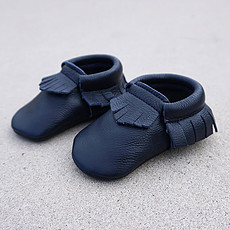 Achat Chaussons & Chaussures Mocassins Bleu Nuit - 18/19