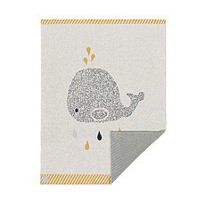 Achat Linge de lit Couverture Little Water - Baleine