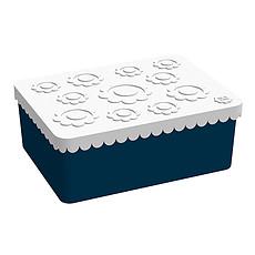 Achat Vaisselle & Couvert LunchBox Blanc / Bleu Foncé