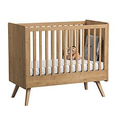 Achat Lit bébé Lit Bébé Vintage 60 x 120 cm - Chêne