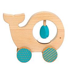 Achat Mes premiers jouets Animal à Pousser en Bois - Baleine