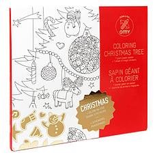 Achat Mes premiers jouets Poster à colorier - Noël