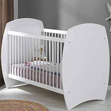 Achat Lit bébé Lit Bébé Evolutif Médéa Blanc - 70 x 140 cm