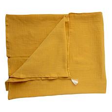 Achat Textile Couverture / Maxi Lange - Yuzu / Ecru