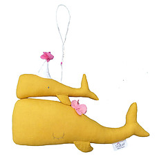 Achat Mobile Calypso, le Mobile Baleine - Curry