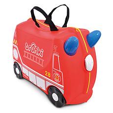 Achat Bagagerie enfant Valise Ride-on Pompier Frank