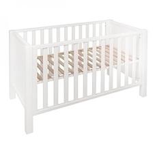 Achat Lit bébé Lit Bébé Marie-Sofie Blanc - 60 x 120 cm