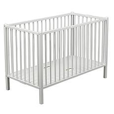 Achat Lit bébé Lit Bébé Pliant Roméo Blanc - 60 x 120 cm