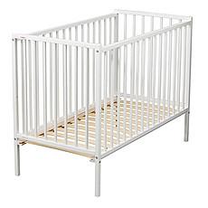 Achat Lit bébé Lit Bébé Rémi Blanc - 60 x 120 cm